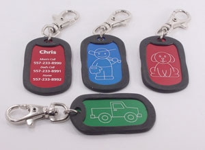Vacation Safety Dog Tag