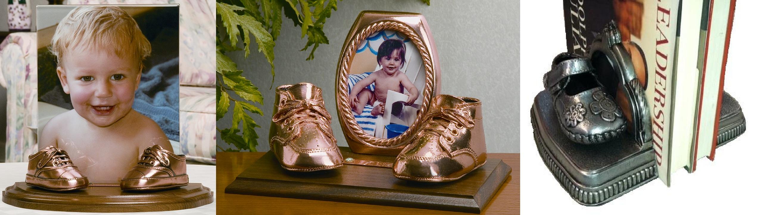 Baby Shoe Bronzing - Baby Shoe Bronzing Keepsakes
